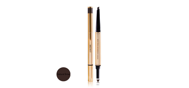 Browit Brow Pencil and Blending Cushion #Natural Brow