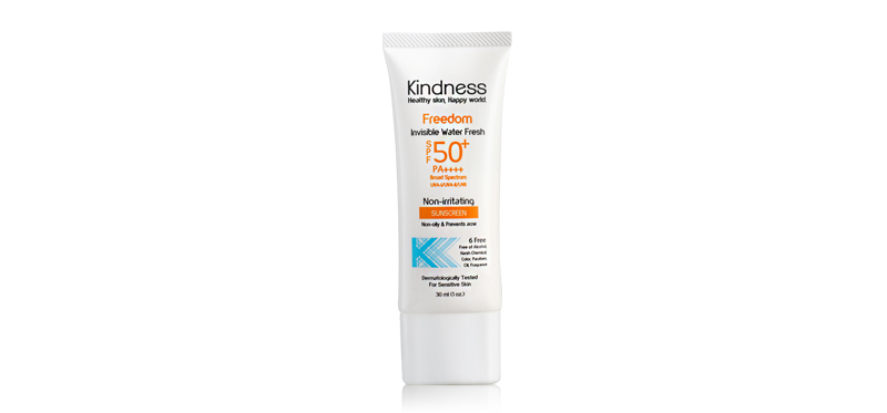 Kindness Freedom Invisible Water Fresh SPF50+/PA++++ 30ml
