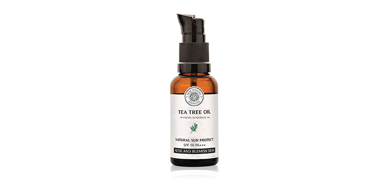 Herb Ministry Tea Tree Oil Sunscreen SPF50/PA+++ 30ml