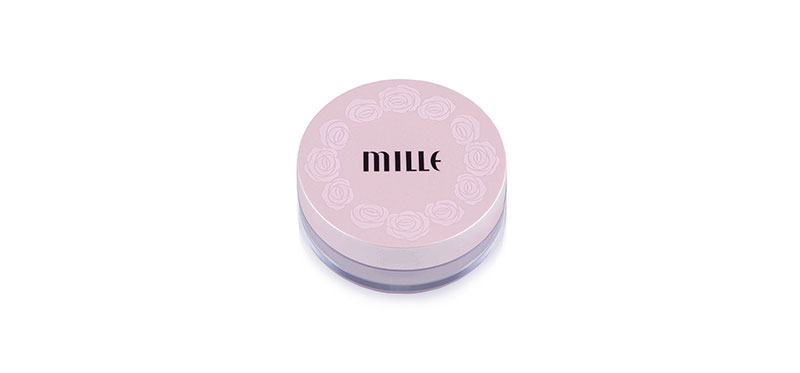 Mille Mini Translucent Loosed Powder 9.5g #Natural Pink