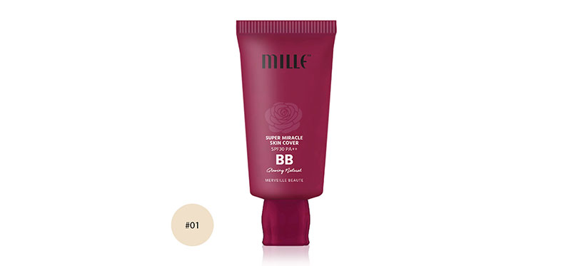 Mille Super Miracle Skin Cover Foundation SPF30/PA++ 30g #01