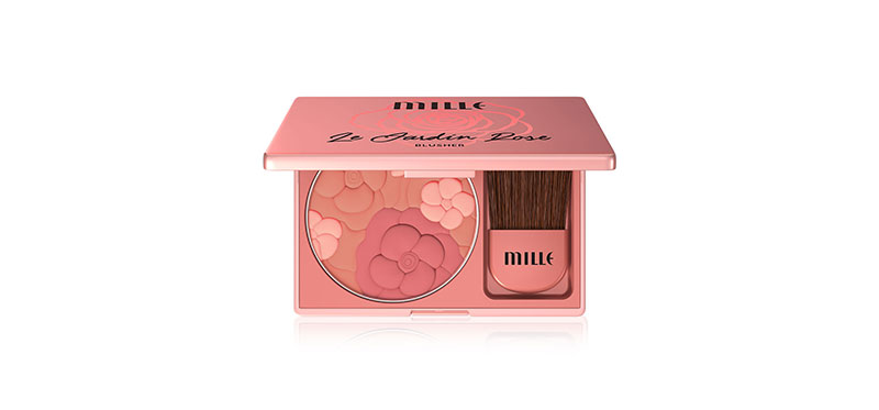 Mille Le Jardin Rose Blusher 11g #06 Peonie