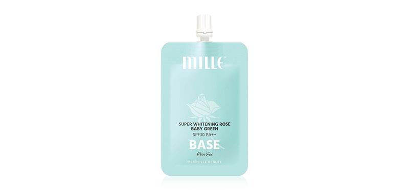 Mille Super White Rose Baby Green Base SPF30/PA++ 6g
