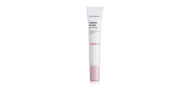 Cute Press Alpha Bright Spot Cream 15g