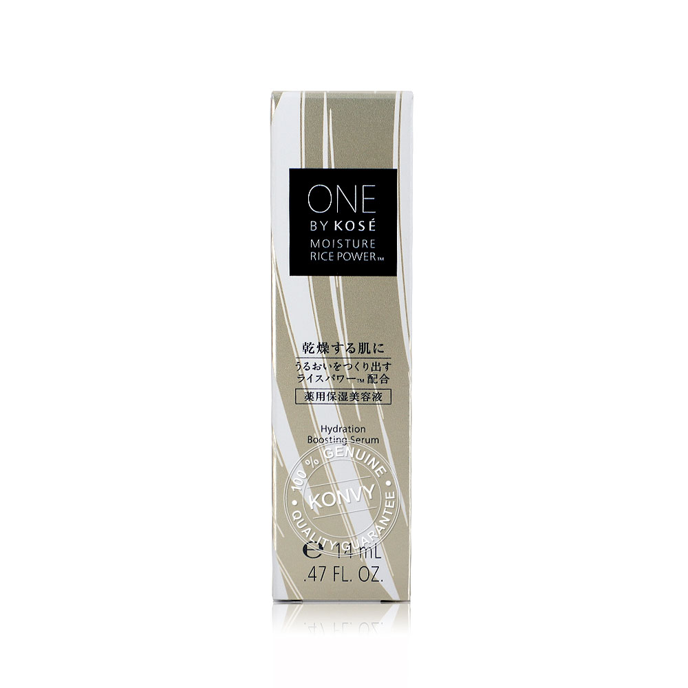 Kose One By Kose Moisture Rice Power Hydration Boosting Serum 14ml