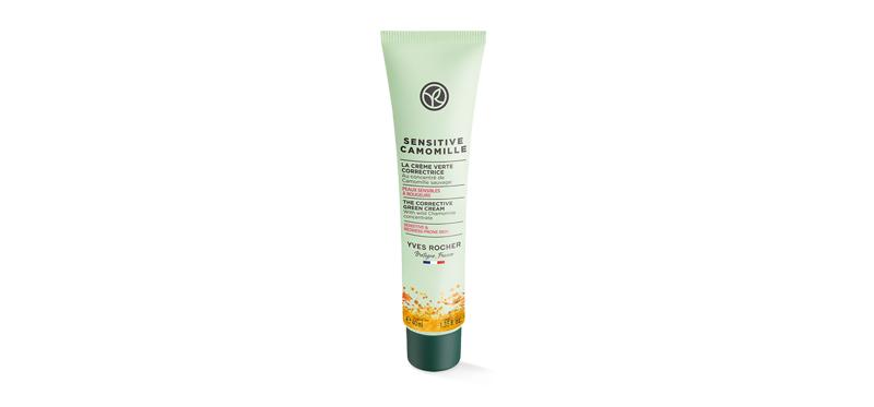 Yves Rocher Sensitive Camomille Corrective Green Cream 40ml