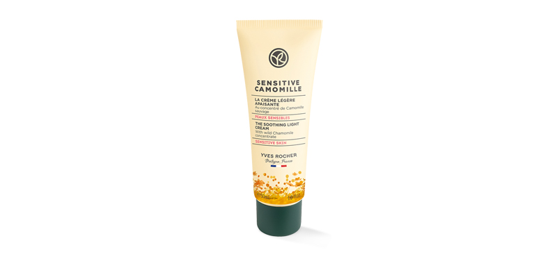 Yves Rocher Sensitive Camomille Soothing Light Cream 50ml