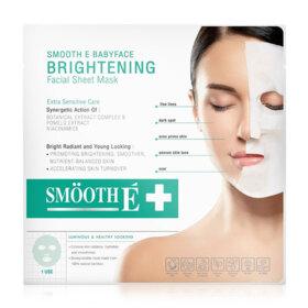 ฟรี!  Smooth E  Brightening Facial Sheet Mask 22g (1 ชิ้น / 1 ออเดอร์) เมื่อช้อปสินค้า  Smooth E  ที่ร่วมรายการ ครบ 450 บาท (ของแถมจำนวนจำกัด)