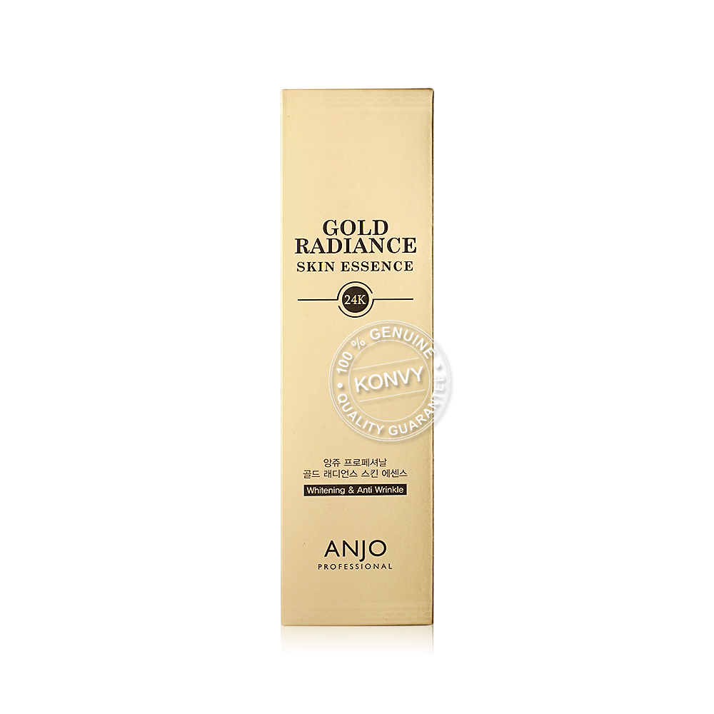 Anjo Gold Radiance Skin Essence 24K Whitening & Anti Wrinkle 150ml