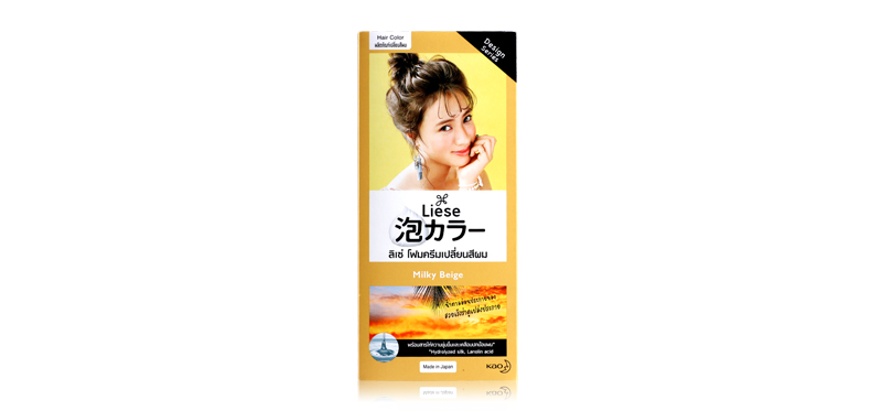 Liese Creamy Bubble Color 100g #Milky Beige