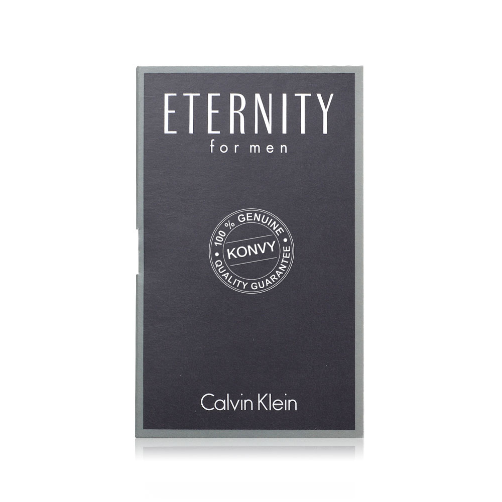 [แพ็คคู่] Calvin Klein Eternity For Men EDT [1.2ml x 2pcs]