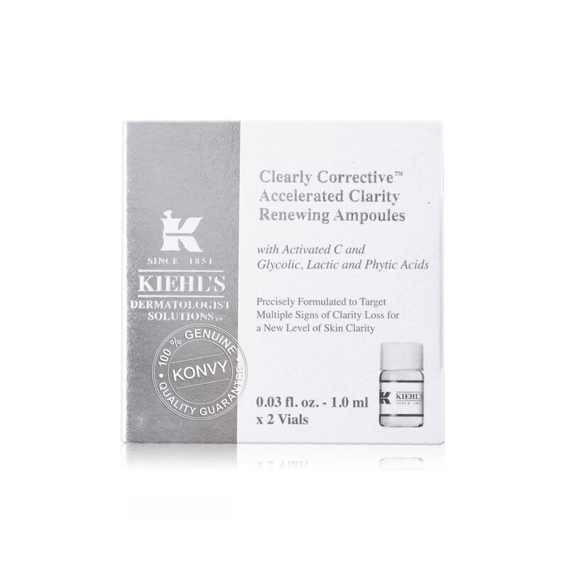 Kiehl's Clearly Corrective Accelerated Clarity Renewing Ampoules [1ml x 2pcs]