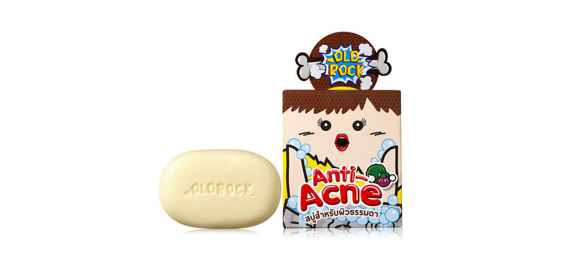 OLD Rock Anti-Acne Bar Soap for Normal Skin 40g