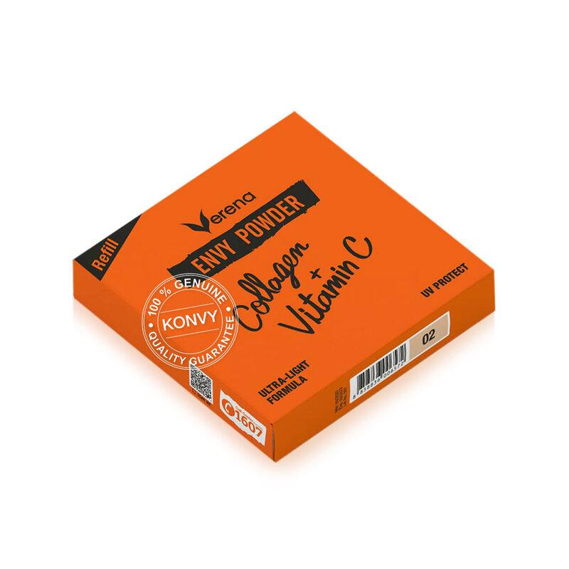 Verena Envy Powder Collagen+ Vitamin C UV Protect #02 [Free! Envy Powder Collagen+ Vitamin C Refill #02]