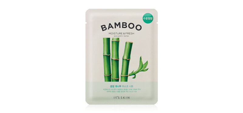 It's Skin The Fresh Mask Sheet Bamboo 19ml ( สินค้าหมดอายุ : 2021.06 )