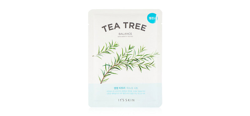 It's Skin The Fresh Mask Sheet Tea Tree 18ml ( สินค้าหมดอายุ : 2022.01 )