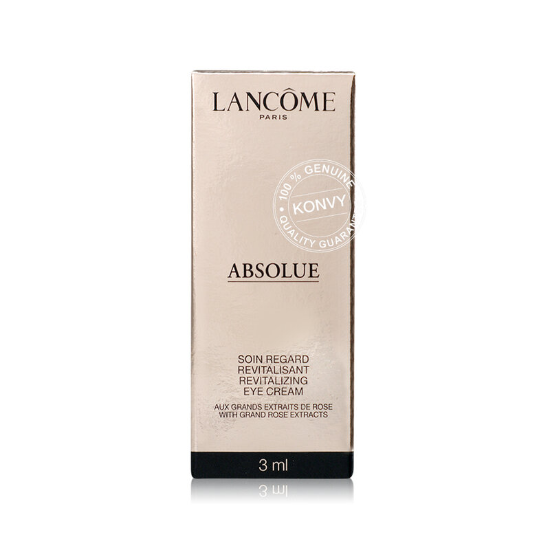 Lancome Absolue Revitalizing Eye Cream With Grand Rose Extracts 3ml