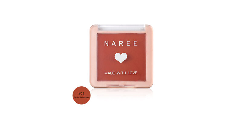 Naree Perfect Cheek Blush 6.5g #22 You Are My Happiness