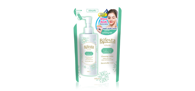 Bifesta Cleasing Lotion Acne Refill 270ml