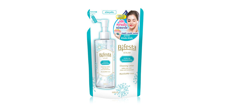 Bifesta Cleasing Lotion Sebum Refill 270ml