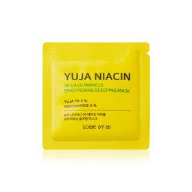 ฟรี!  Some By Mi Yuja Niacin 30Days Miracle Brightening Sleeping Mask 1.2g  (1 ชิ้น / 1 ออเดอร์) เมื่อช้อปสินค้า SomeByMi ที่ร่วมรายการอย่างน้อย 1 ชิ้น