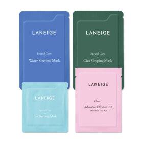 ฟรี! Laneige Special Samples [Random1pcs] (2 ชิ้น / 1 ออเดอร์) เมื่อช้อปสินค้า Laneige อย่างน้อย 1 ชิ้น