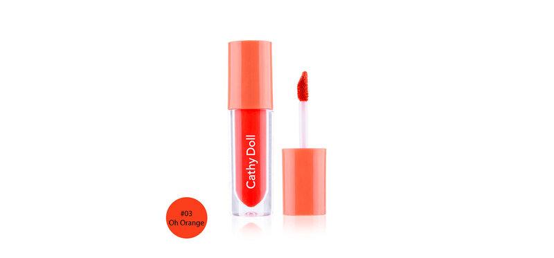 Cathy Doll Glow Gel Tint 2.4g #03 Oh Orange