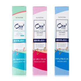 ฟรี! Ora2 Me S.Clear Toothpaste 25g [Random Formular] (1 ชิ้น / 1 ออเดอร์) เมื่อช้อปสินค้า Ora2 อย่างน้อย 1 ชิ้น