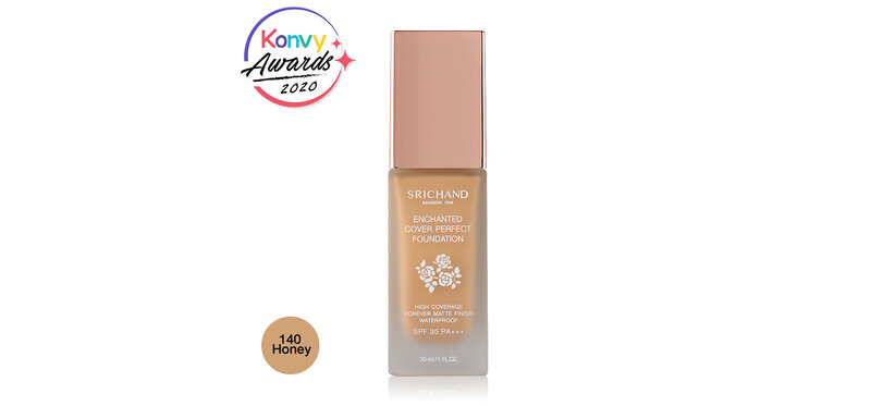 Srichand Enchanted Cover Perfect Foundation 30ml #140 Honey