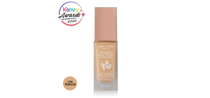 Srichand Enchanted Cover Perfect Foundation 30ml #130 Natural