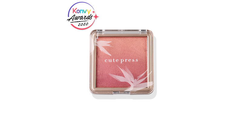 Cute Press Nonstop Beauty Ombre Blush 10g #03 Sunset Glow