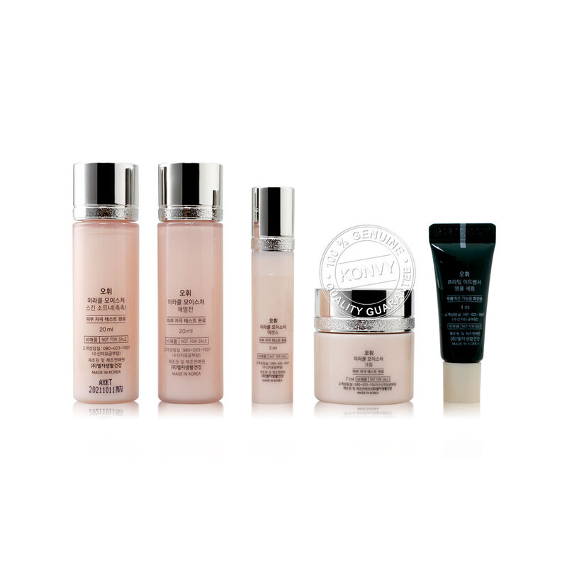 O HUI Optimum Hydration Restoring Transparency Smooth-Intense Miracle Moisture Miniature Kit 5 Items