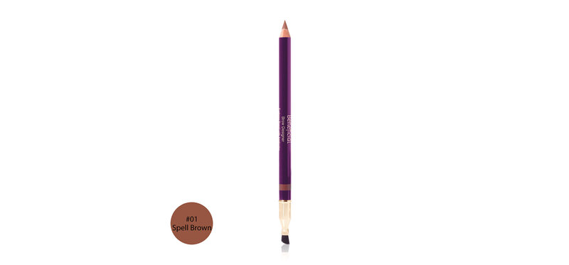Oriental Princess Beneficial Eyebrow Pencil with Applicator 1.19g #01 Spell Brown