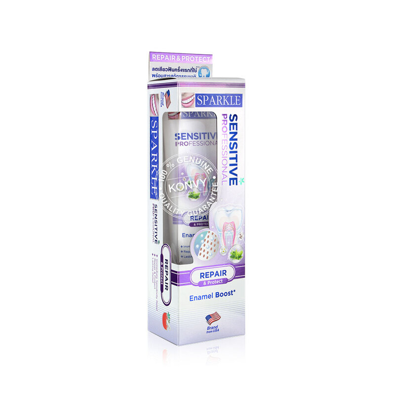 [แพ็คสี่] Sparkle Sensitive Professional Toothpaste [100g x 4pcs] [SK0390]