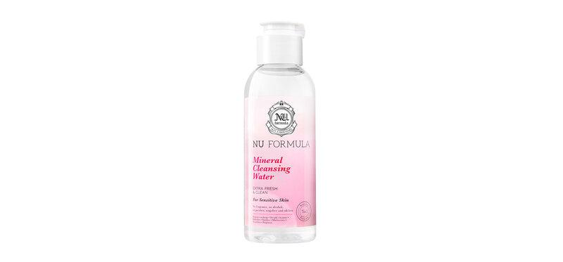 Nu Formula Mineral Cleansing Water For Sensitive Skin 100ml