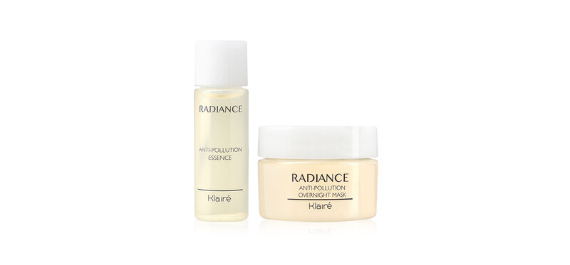 Klairé Set 2 Items Radiance Essences 10ml + Overnight Mask 10ml ( สินค้าหมดอายุ : 2022.02 )
