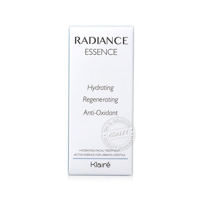 Klairé Set 2 Items Radiance Essences 10ml + Overnight Mask 10ml
