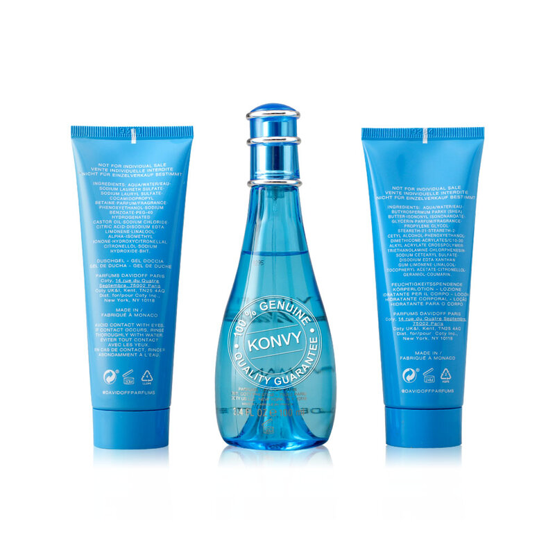 Davidoff Cool Water For Her Set