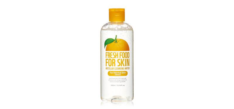 FARM SKIN Fresh Food For Skin Micellar Cleansing Water For Normal Skin Orange 300ml