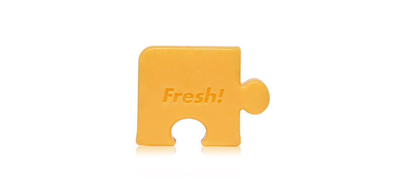 FARM SKIN Fresh Food For Skin Missing Puzzle Soap Rereshing Orange 30g
