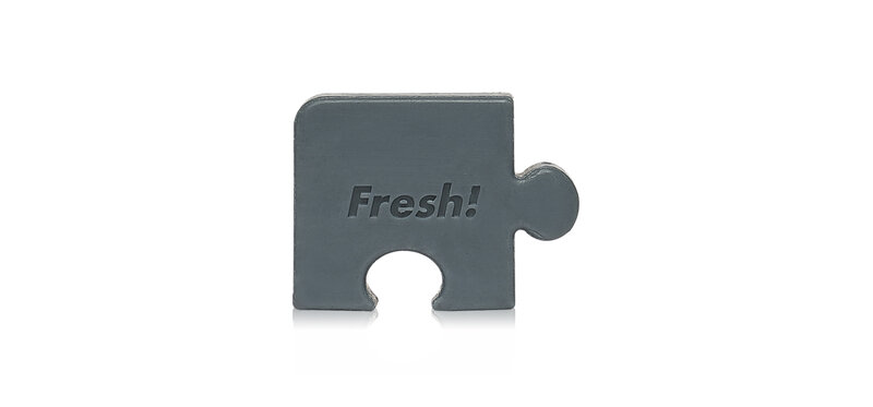 FARM SKIN Fresh Food For Skin Missing Puzzle Soap Purifying Charcoal 30g