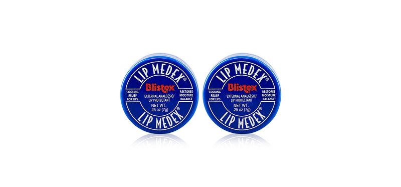 [แพ็คคู่] BLISTEX Lip Medex Lip Moisturizer [7g x 2pcs]