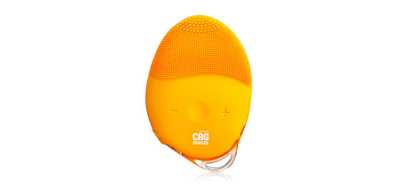 CBG Devices 15 Level Sonic Egg Face Cleaner #Yellow