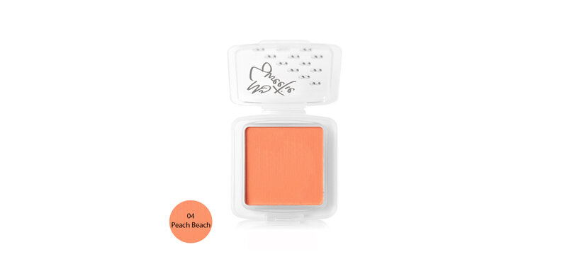 Mongrang My Sweethi Blush Matte 2.5g #04 Peach Beach