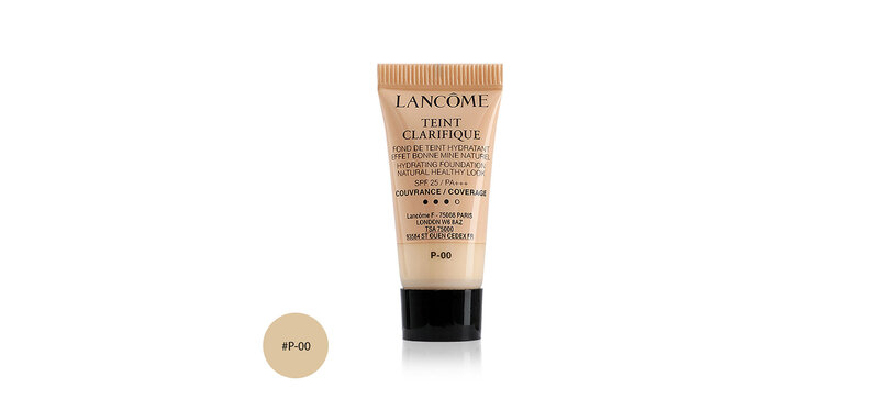 Lancome Teint Clarifique Hydrating Foundation Natural Healthy Look SPF25/PA+++ 5ml #P-00
