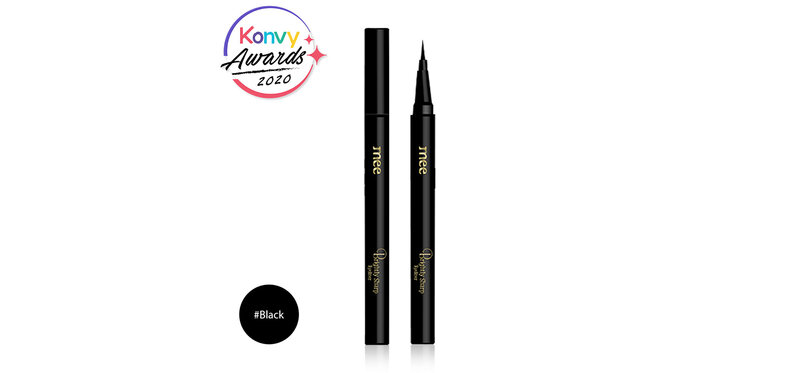 Mee Brightly Sharp Eyeliner Waterproof #Black