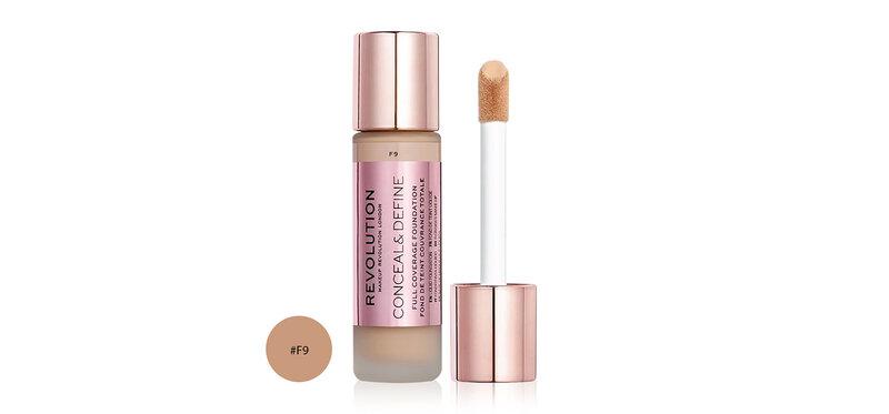 Makeup Revolution Conceal & Define Foundation 23ml #F9