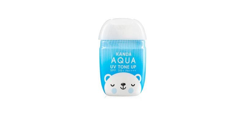Kanda UV AQUA Sunscreen White Tone Up SPF50/PA+++ 30ml
