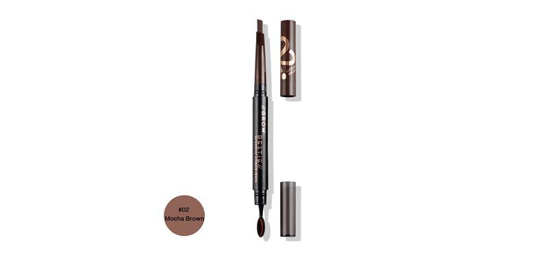 FIIT Cosmetics Brow Bestie Waterproof Eyebrow Pencil 0.25g #02 Mocha Brown