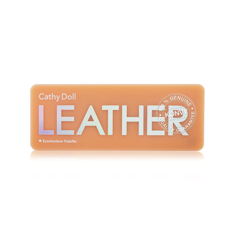 Cathy Doll Eyeshadow Palette 10 Colors #Leather